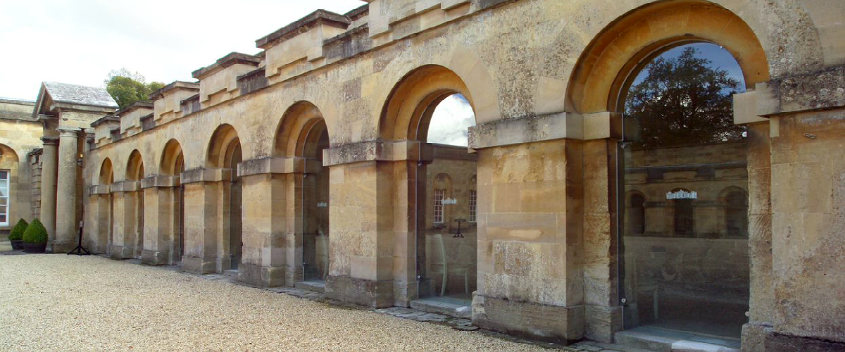 Glass walls & entrances for Blenheim Palace