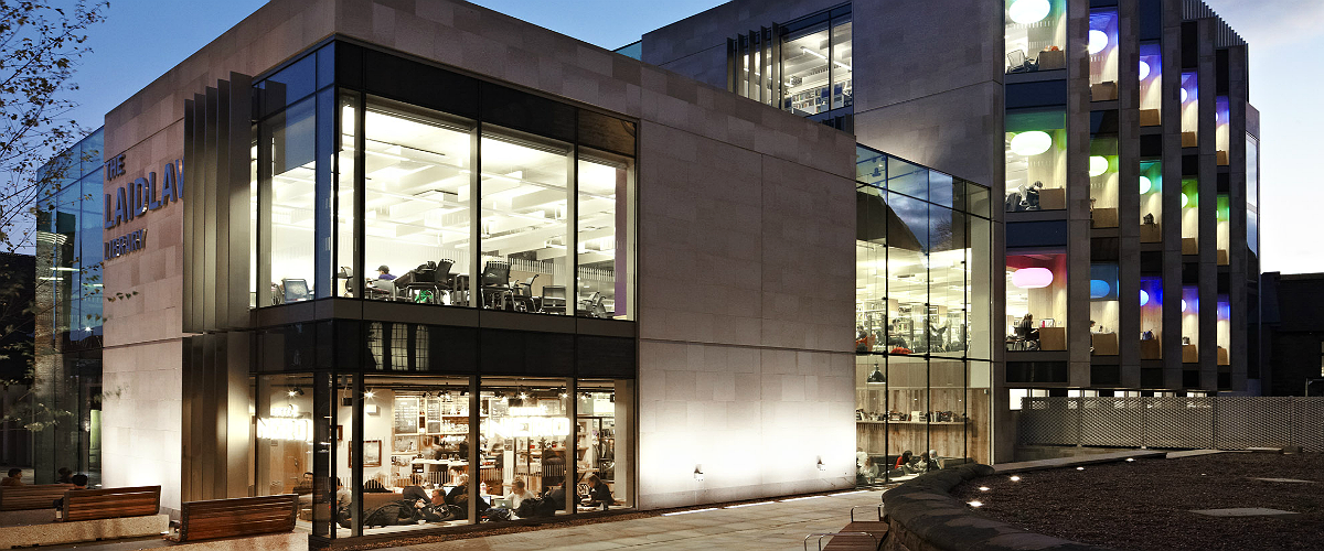 Structural Bolted Glazing for Laidlaw Library